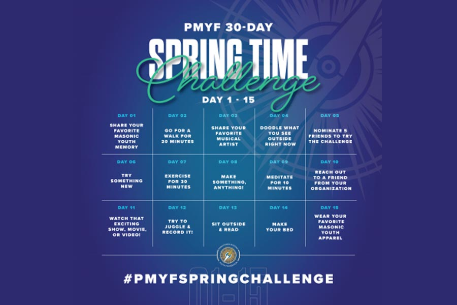 PMYF 30-Day Spring Time Challenge